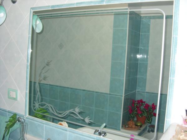 Specchio bagno tecnologico design della casa